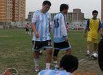 图腾族足球比赛