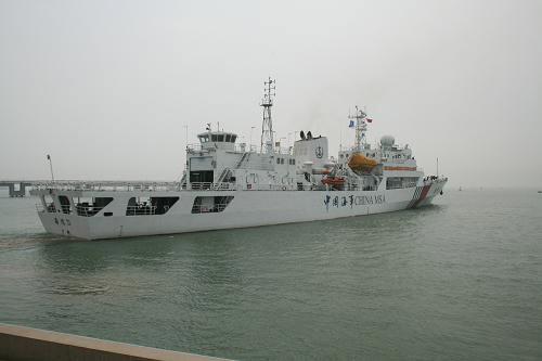 """图为""""海巡31""""启航"""