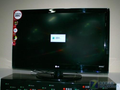 主打高清数字电视 LG09新品卖场到货