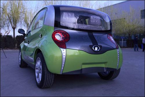 展车新闻      长城新能源电动车欧拉     上海车展长城汽车要展出12图片