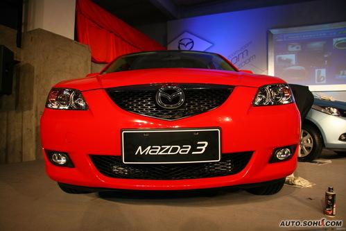 马自达 Mazda 3三厢 实拍 外观 图片