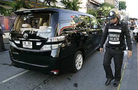 泰国人民民主联盟领导人遭枪击