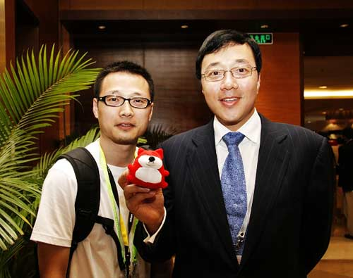 中星微电子公司董事长 邓中翰博士(图片来源:搜狐财经)