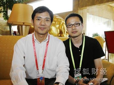 搜狐记者专访百度CEO李彦宏