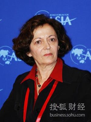 法国外贸事务国务秘书安娜-玛丽·伊德拉克(图片来源:搜狐财经)