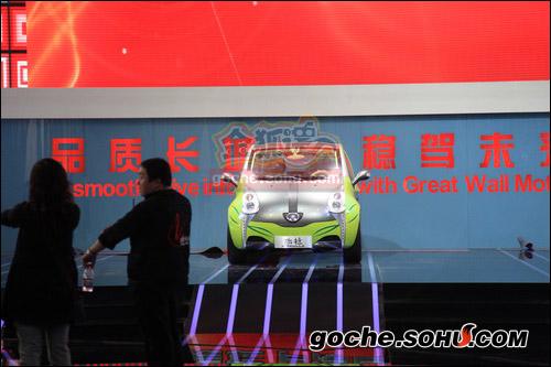 长城电动小车欧拉 高清图片