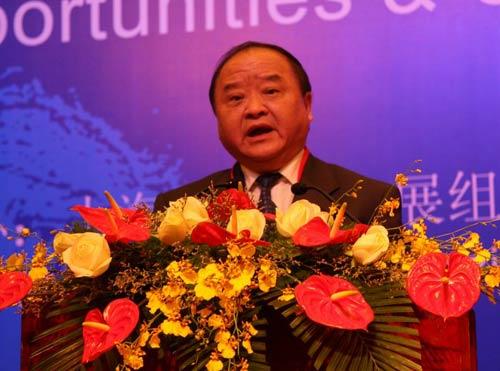 中国机械工业联合会执行副会长张小虞