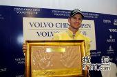 图文:09VOLVO公开赛颁奖典礼 冠军来自澳洲