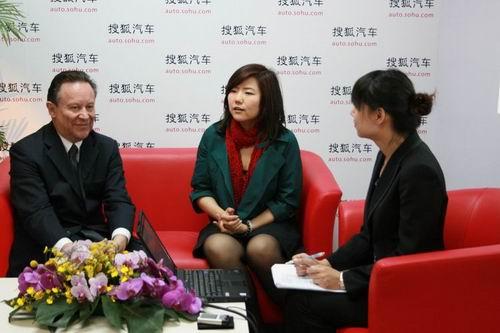 东风标致总经理窦赛尔接受搜狐汽车访问