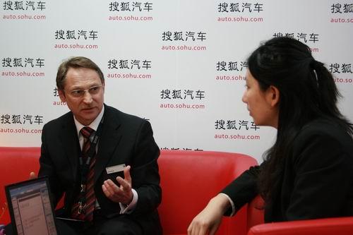 华晨宝马总裁首席执行官吴佩德接受搜狐汽车专访