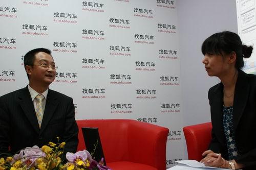 一汽马自达销售公司副总经理于洪江接受搜狐汽车专访