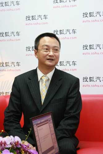 一汽马自达销售公司副总经理于洪江