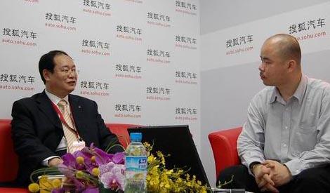 吉利总裁杨健接受搜狐采访