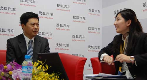 长安福特马自达执行副总邹文超接受搜狐汽车访问