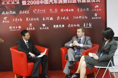 克莱斯勒亚洲业务首席执行官柯安哲做客搜狐嘉宾访谈室