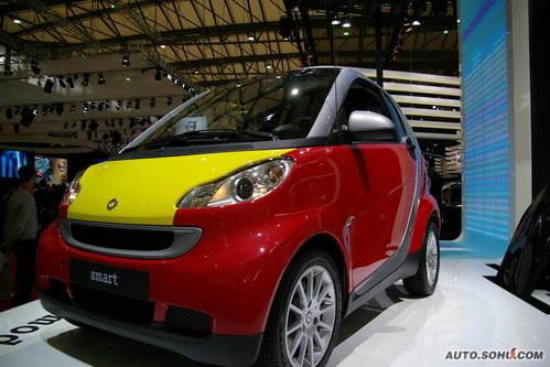 smart fortwo 实拍 外观 家用 个性 15-20万 进口新车 图片