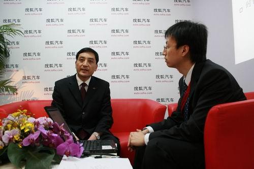 江淮汽车股份公司副总经理戴茂芳接受搜狐采访