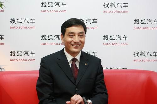 江淮汽车股份公司副总经理戴茂芳