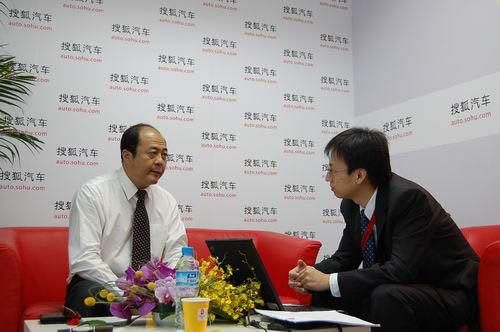 奇瑞销售总经理马德骥接受搜狐汽车专访