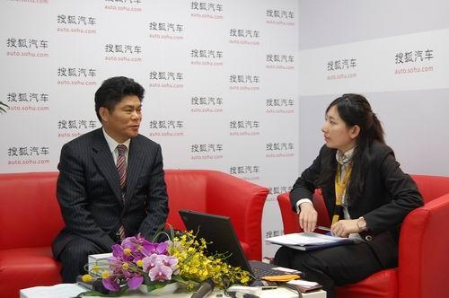 东风悦达起亚副本部长王敦明接受搜狐采访