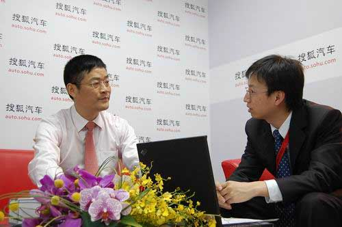 广汽丰田汽车有限公司副总经理胡苏接受搜狐汽车专访