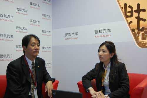 一汽丰田销售总经理毛利悟接受搜狐汽车专访