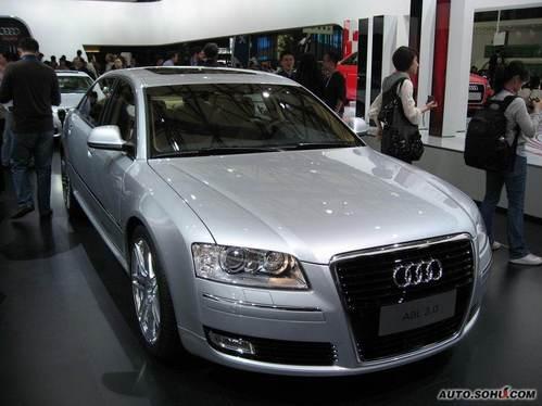 奥迪 A8L 实拍 外观 商务 50万元以上 进口新车 图片