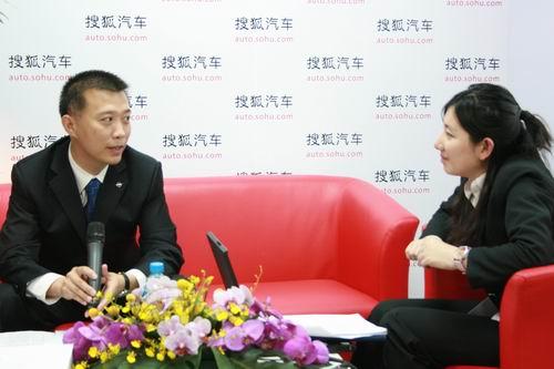 海南一汽海马汽车销售有限公司总经理吴刚接受搜狐汽车专访