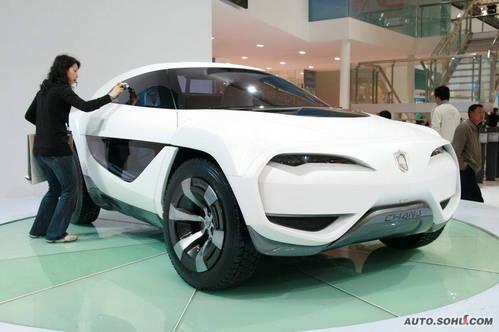 长安 e301 SUV概念车 实拍 外观 概念车 自主车 图片