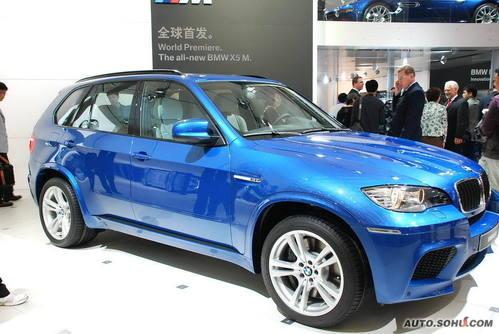 宝马 X5M 实拍 外观 国内首发 即将上市 个性 50万元以上 进口新车 图片