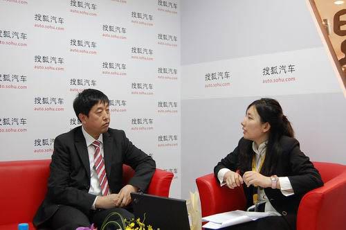 中航工业哈飞汽车工业(集团)有限公司副总经理张海行接受搜狐汽车访问