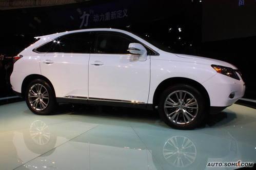 雷克萨斯 RX混动 实拍 外观 国内首发 车展上市 新能源车 30-50万 进口新车 图片