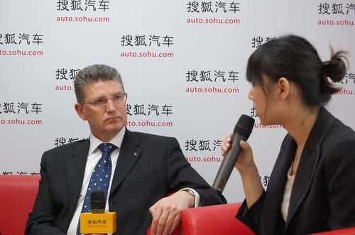 劳斯莱斯汽车有限公司销售及市场总监戈锐先生接受搜狐汽车访问