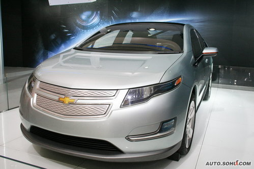 雪佛兰 Volt 实拍 外观 新能源车 图片