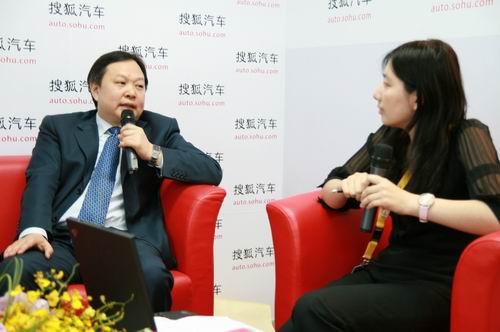 东风雪铁龙副总经理魏文清接受搜狐采访