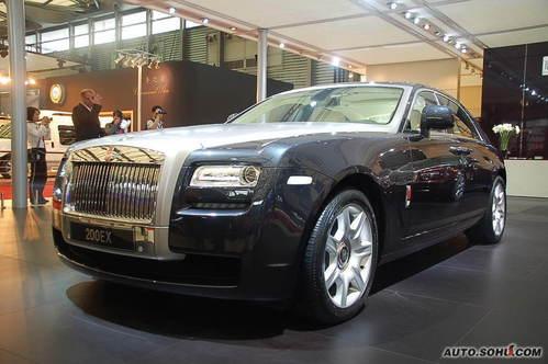 劳斯莱斯 200EX 实拍 外观 豪华 50万元以上 进口新车 图片