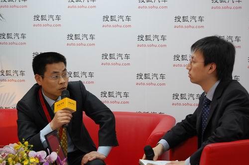力帆汽车总经理廖雄辉接受搜狐采访