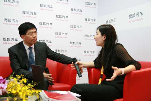长丰汽车总经理陈正初接受搜狐采访