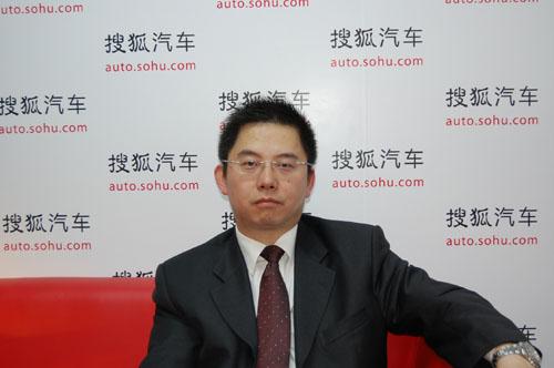 上汽通用五菱销售公司总经理杨杰