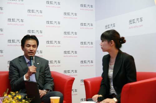 斯巴鲁汽车(中国)有限公司董事总经理铃木一成接受搜狐汽车访问