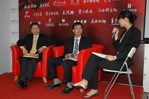 陕西重汽总工程师王小峰、 西安交大刘圣华接受搜狐访问
