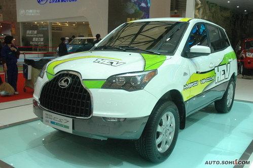 猎豹 CS7 实拍 外观 国内首发 自主车 新能源车 10-15万 图片
