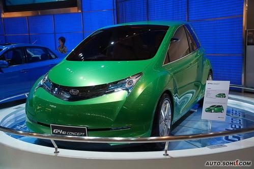斯巴鲁 G4e 实拍 外观 概念车 新能源车 图片
