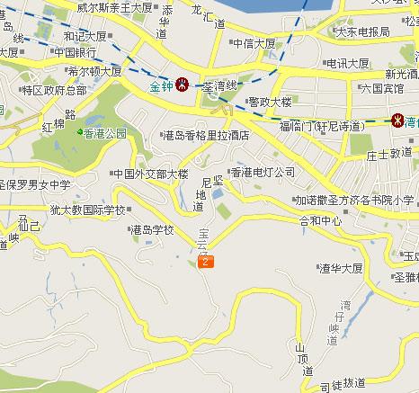 搜索香港特区地图