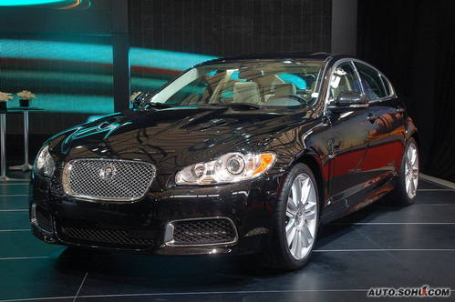 捷豹 XF 实拍 外观 车展上市 个性 50万元以上 进口新车 图片