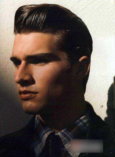 男士复古嬉皮发型-男人频道