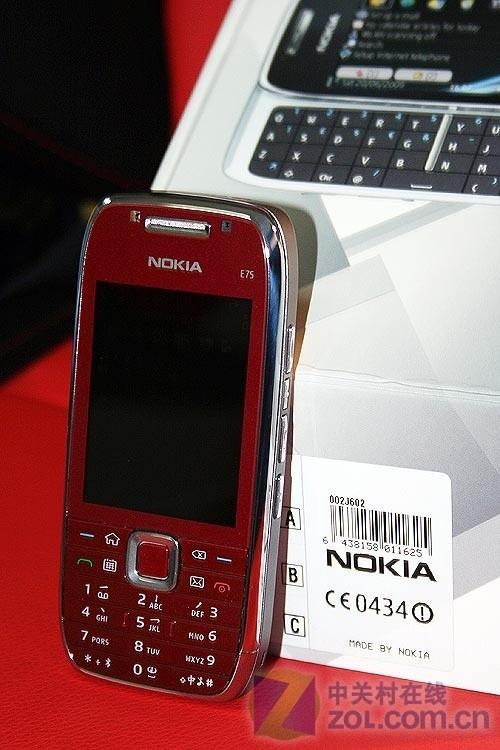 双键盘S60全能新机 诺基亚E75评测