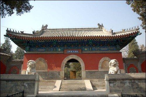 北京路书指南:城市午后大觉寺品茶