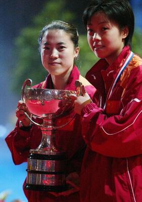 第47届巴黎世乒赛女双折桂