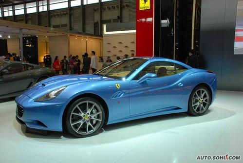 法拉利 California 实拍 外观 个性 豪华 50万元以上 进口新车 图片